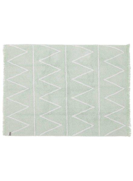 Lorena Canals Wasbaar tapijt - Hippy mint