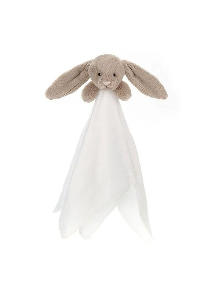 Jellycat Bashful Beige Bunny Muslin Soother