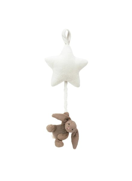 Jellycat Bashful Beige Bunny Star Musical Pull