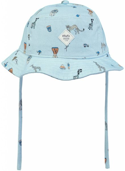 Barts Lobster Buckethat print blue