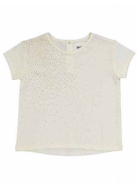 Blune T-shirt - Golden dots