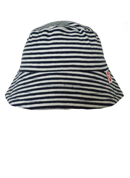 Kik Kid Zomerhoedje - Blue and white stripes