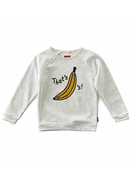 Tapete boys basic sweater   -  off white melange-bananas