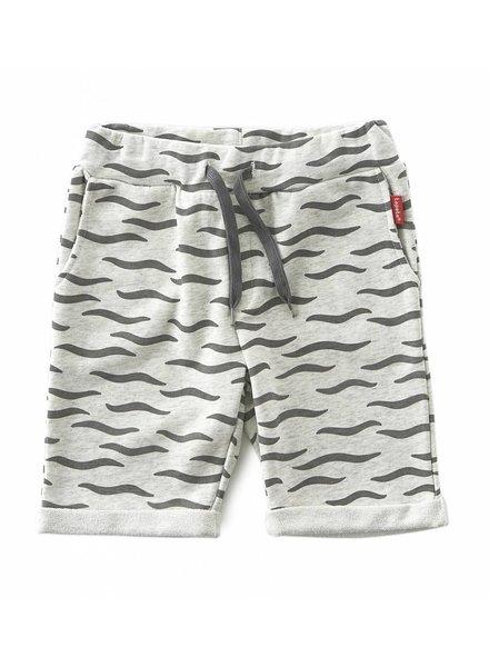 Tapete boys sweat shorts   -  black waves