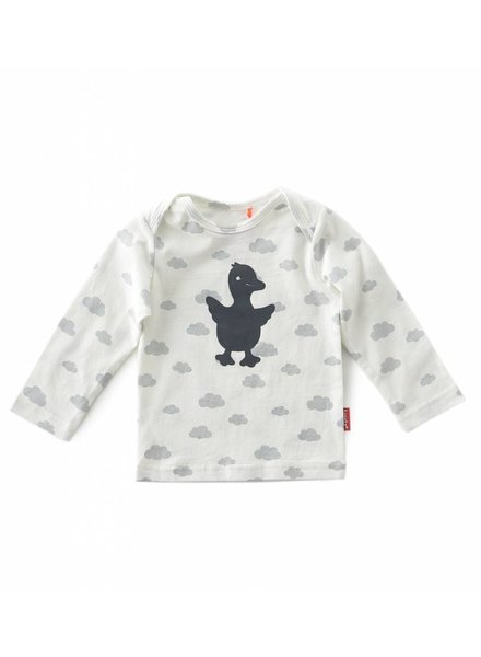 Tapete newborn shirt long sleeves  -  clouds-gosling