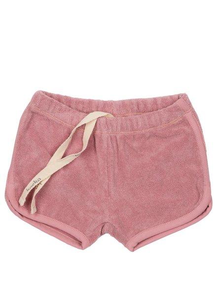 Koeka Coconut Grove shorts blush pink