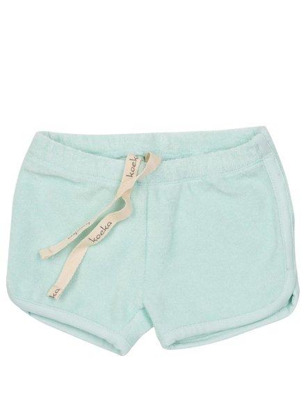 Koeka Coconut Grove shorts bright mint