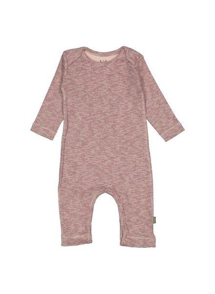 Kidscase Honey organic NB suit - light pink