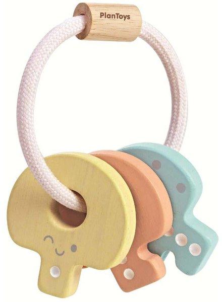 Plan Toys Ring rammelaar - Eerste sleutelbos