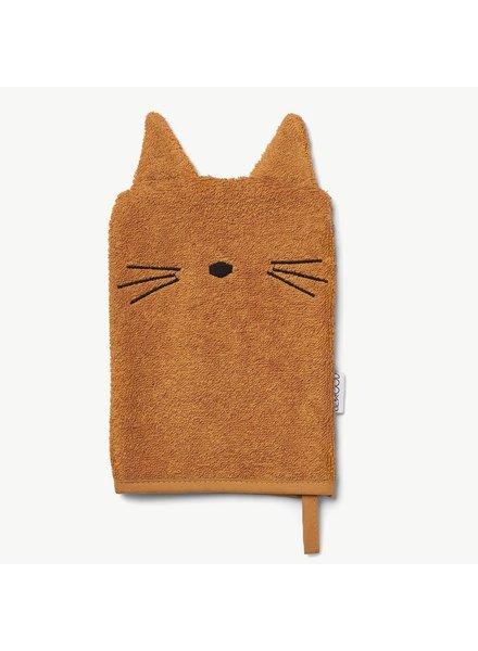Liewood Sylvester Washand Cat Mustard