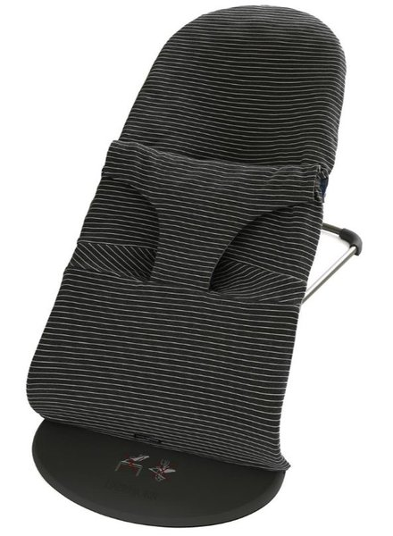 Mundo Melocoton Bouncer Cover Interlock La Línea Anthracite