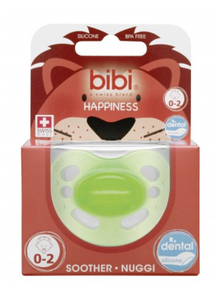 Bibi Fopspeen Newborn Colours Groen 0-2M Dental
