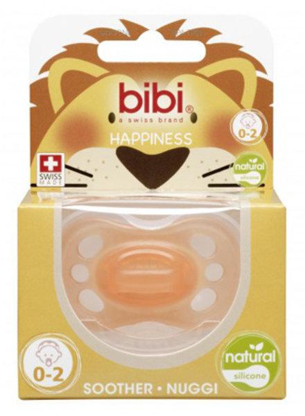 Bibi Fopspeen Newborn Colours Oranje 0-2M Natural