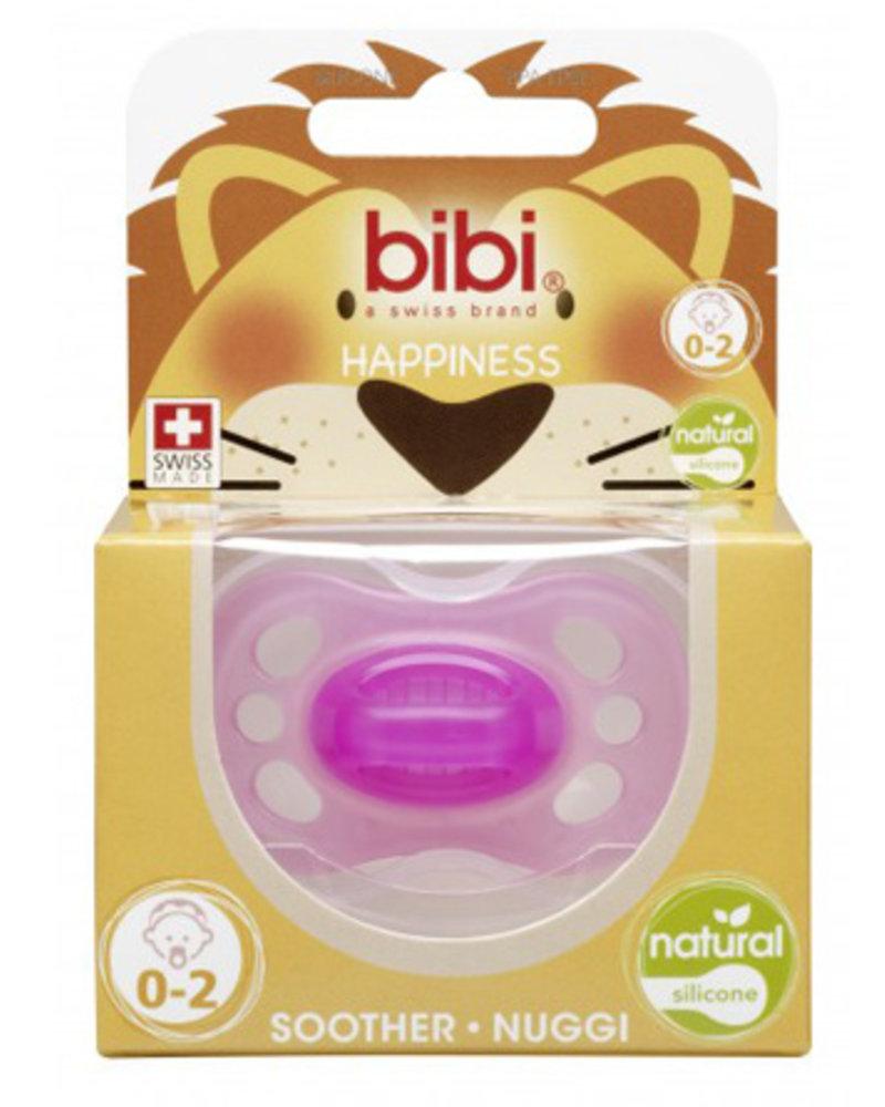 Bibi Fopspeen Newborn Colours Roos 0-2M Natural