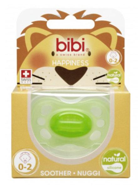 Bibi Fopspeen Newborn colours Groen 0-2M Natural