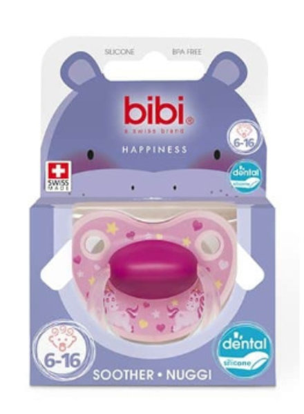 Bibi Fopspeen Stardust Unicorn 6-16M Dental