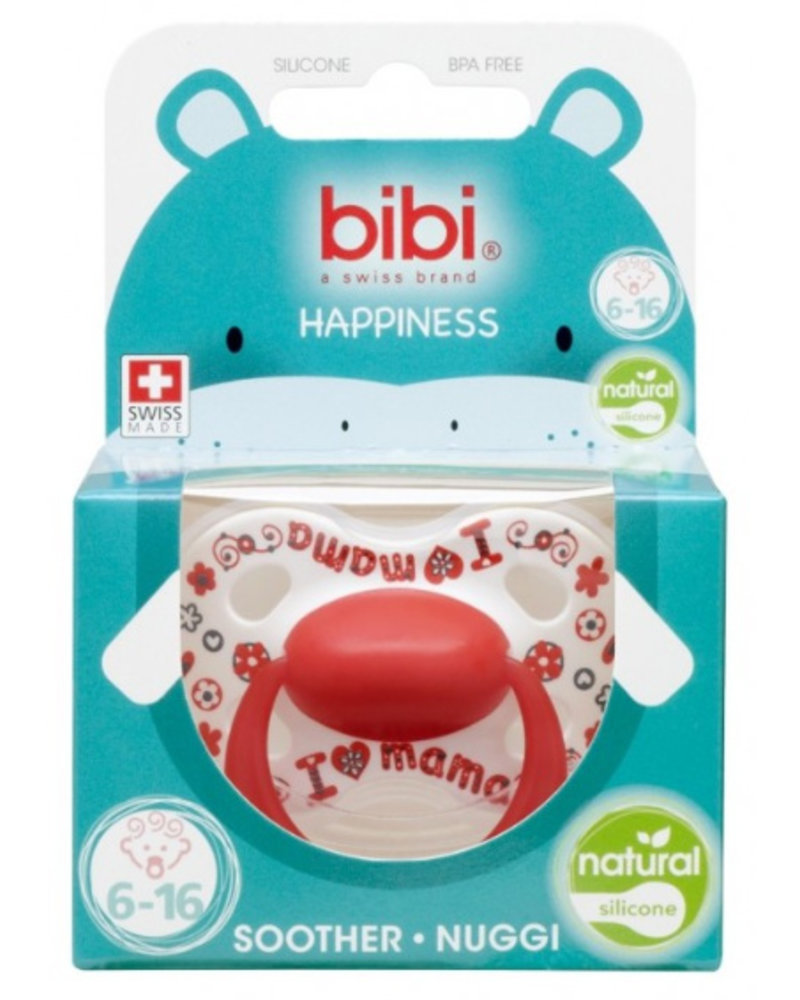 Bibi Fopspeen I Love Mama 6-16M Natural