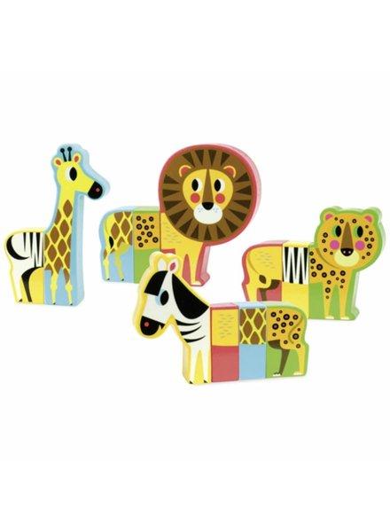 Vilac Set magnetische dieren savanna