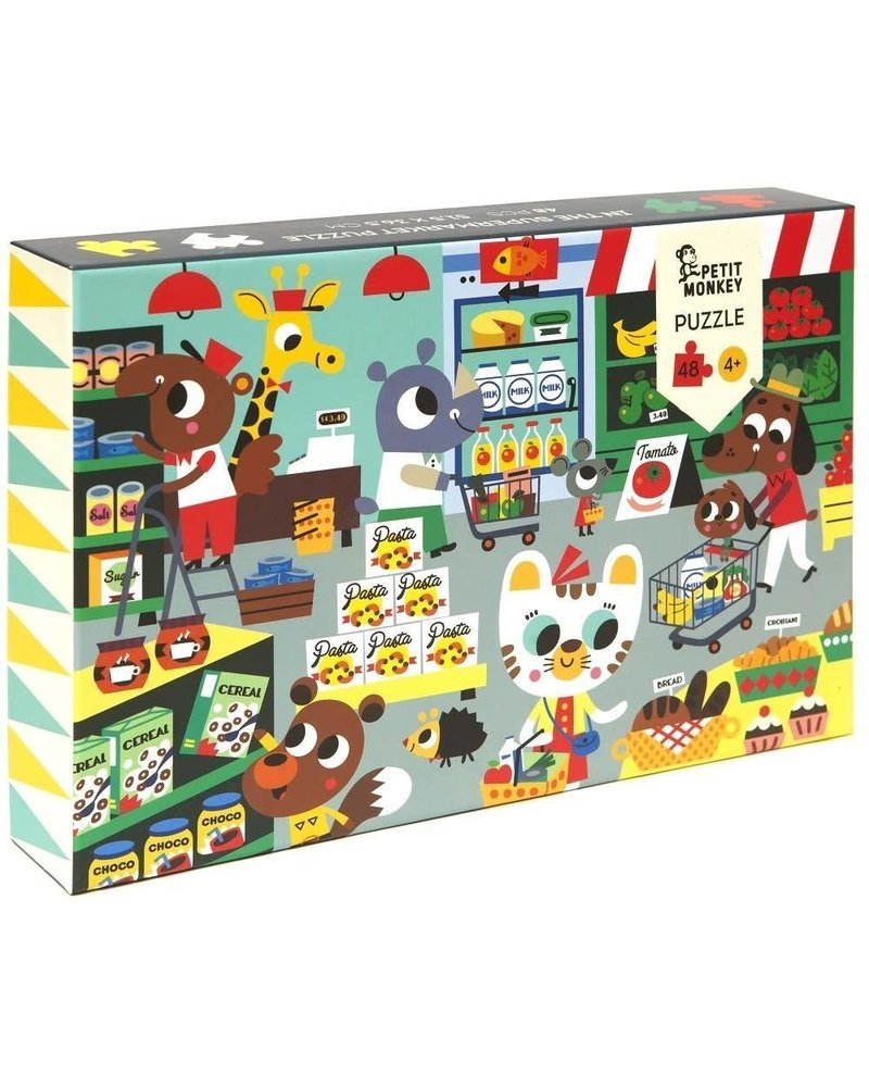Petit Monkey In the supermaket puzzle