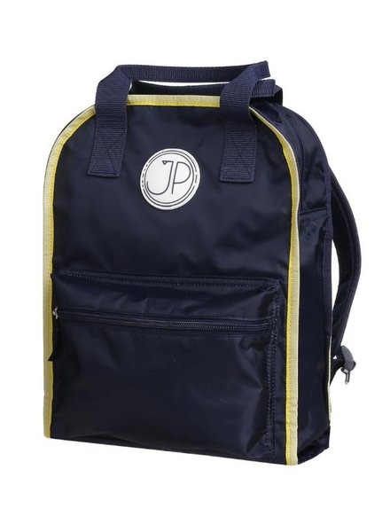 Jeune Premier Backpack Amsterdam Large Navy Blue