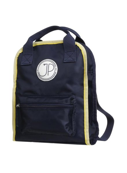 Jeune Premier Backpack Amsterdam Small Navy Blue