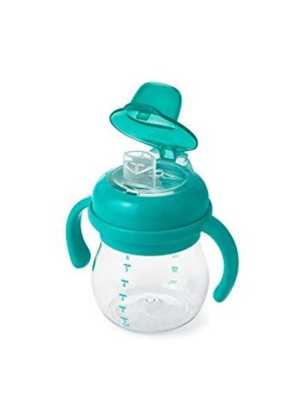 Oxo Tot Transitions soft spout cup teal