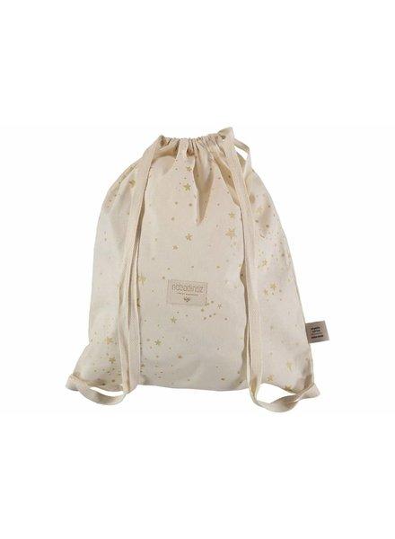 Nobodinoz Koala Backpack Gold Stella/ Natural