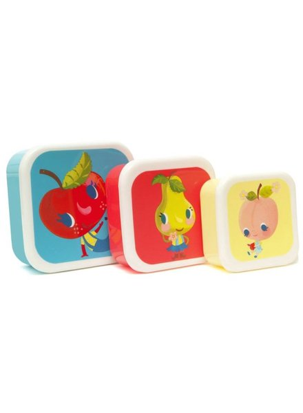 Petit Monkey Lunchdoosjes Per 3 - Fruities