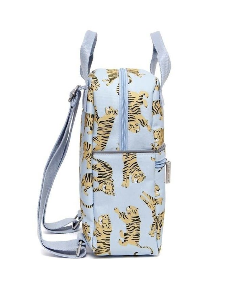 Petit Monkey Backpack tigers grey