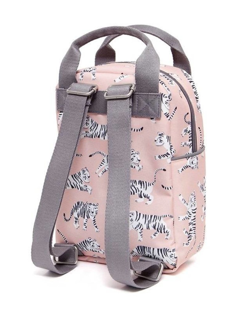 Backpack white tigers