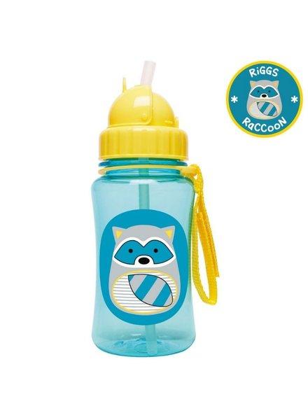 Skip Hop Zoo Straw Bottle - Raccoon