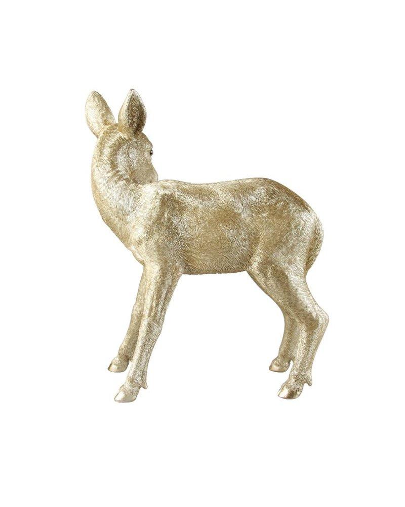 &Klevering Spaarpot Hert - Goud