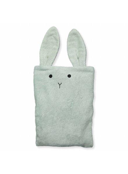 Liewood Egon Changing Mat Cover Rabbit dusty mint