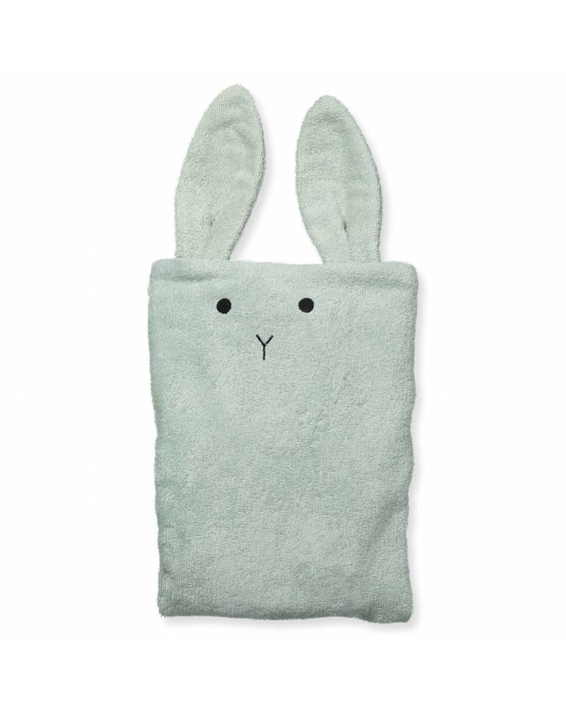 Liewood Egon Changing Mat Cover Rabbit dusty mint