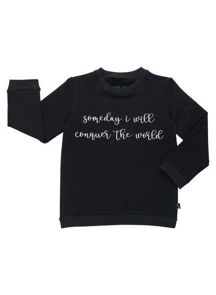 CarlijnQ Sweater - Someday I will conquer the world