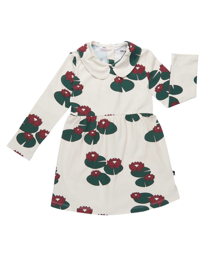 CarlijnQ Collar dress - Waterlilly