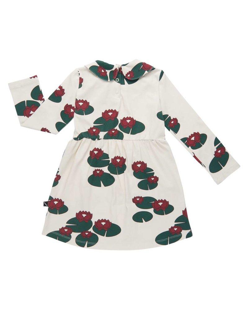 CarlijnQ Collar dress - Waterlilly - maat 98/104