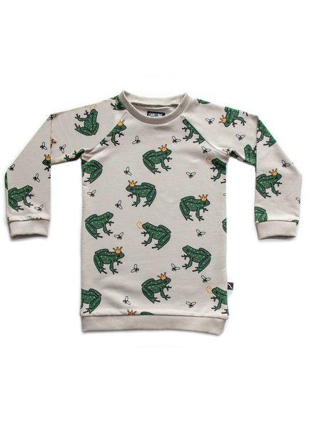 CarlijnQ Sweater Dress - Frog