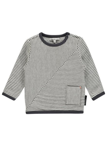 Noppies Sweater ls Townsend str - Charcoal