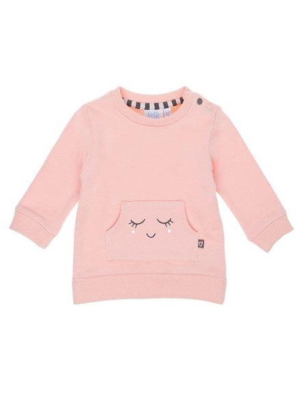 Feetje Sweater face Miss Mini - Roze