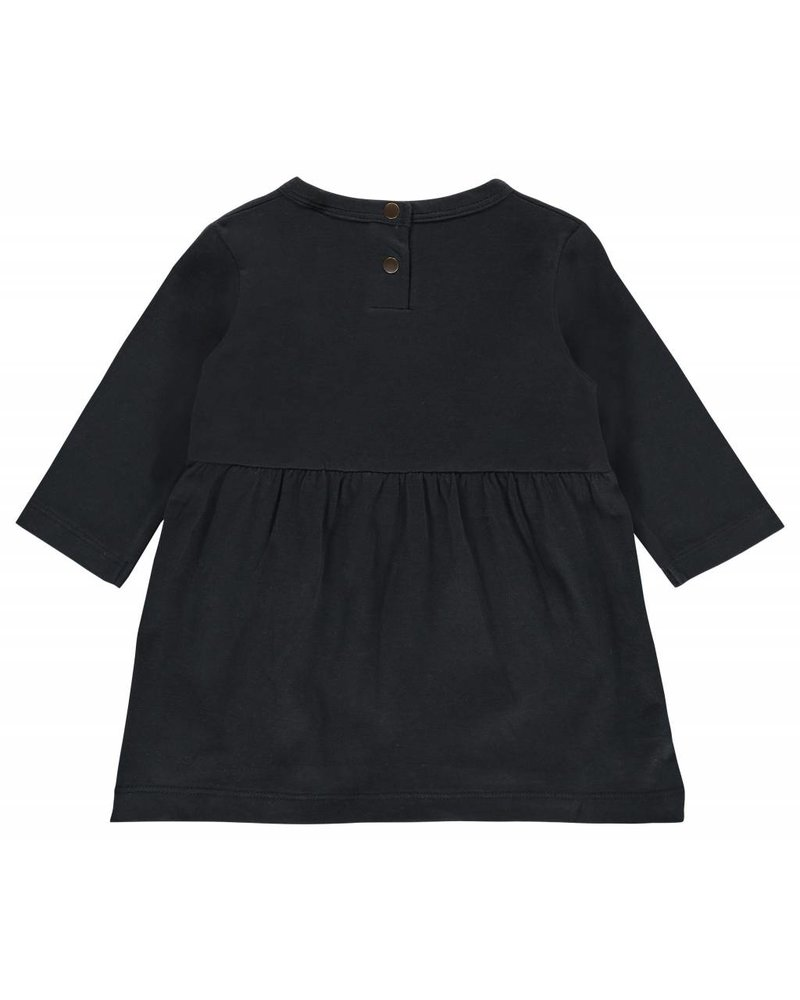 Imps & Elfs Dress Long Sleeve - Stormy blue - maat 62, 68, 74 & 86