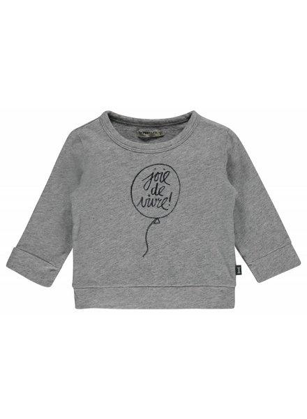 Imps & Elfs T-shirt Long Sleeve - Concrete grey