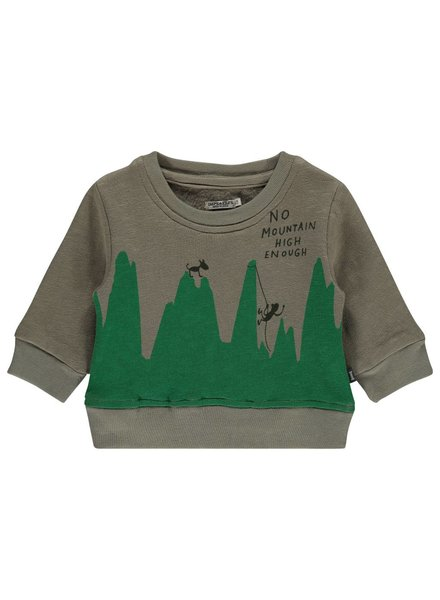 Imps & Elfs Pullover Long Sleeve - Tea Green - Maat 80