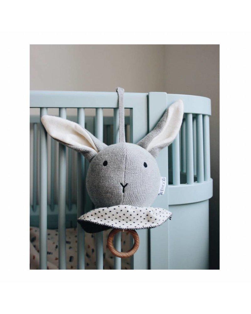 Liewood Angela music mobile - Rabbit grey melange