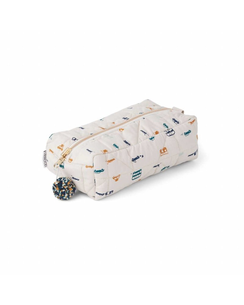 Liewood Beate toiletry bag - cars