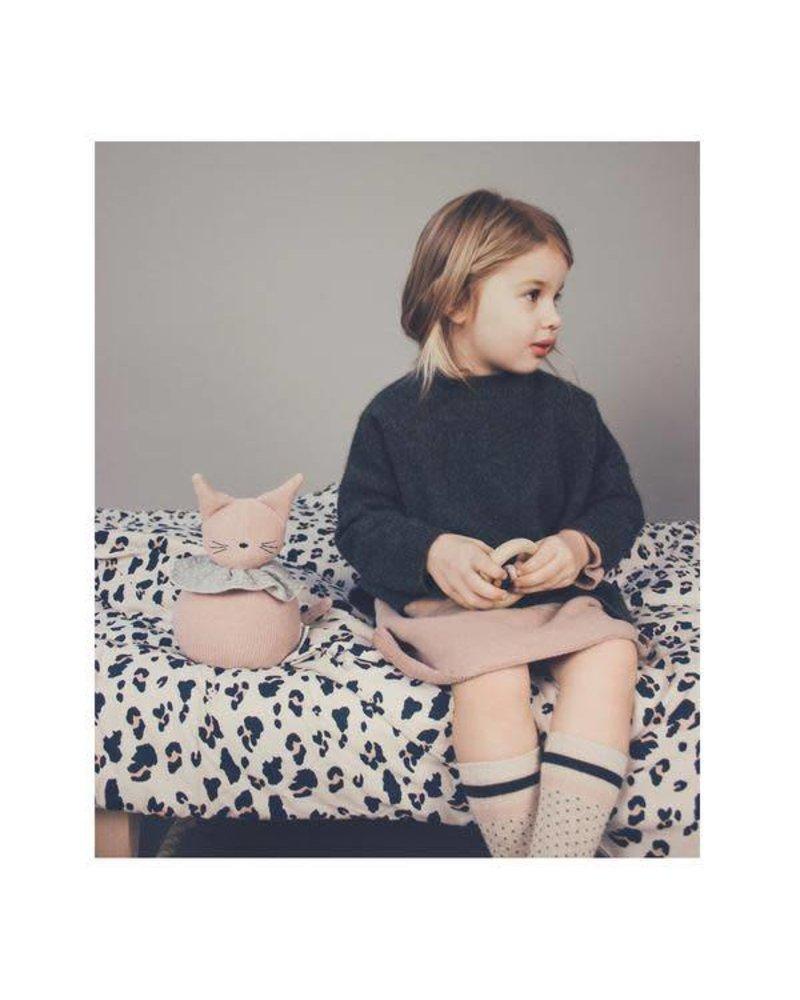 Liewood Ingeborg junior bedding-Leo beige beauty (100 x 140)