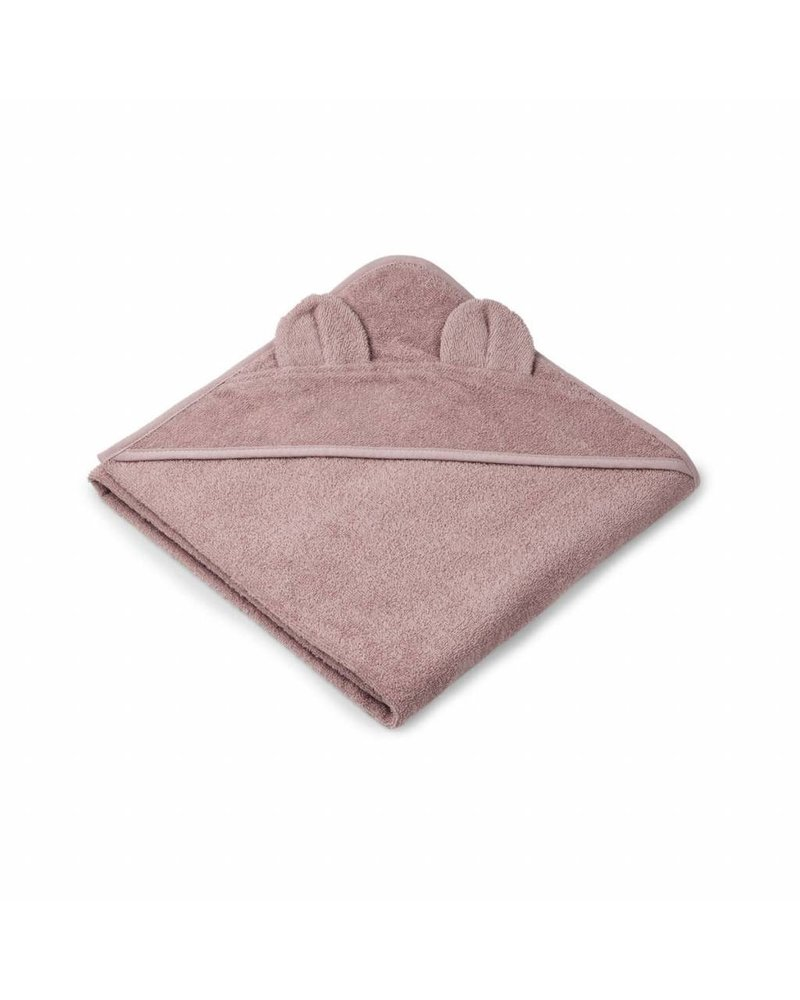 Liewood Augusta towel - Mr Bear rose (100x100)