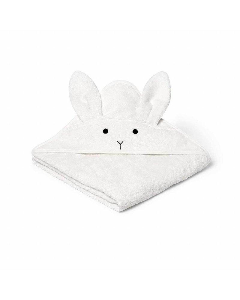 Liewood Augusta towel-Rabbit-Creme de la creme (100x100)
