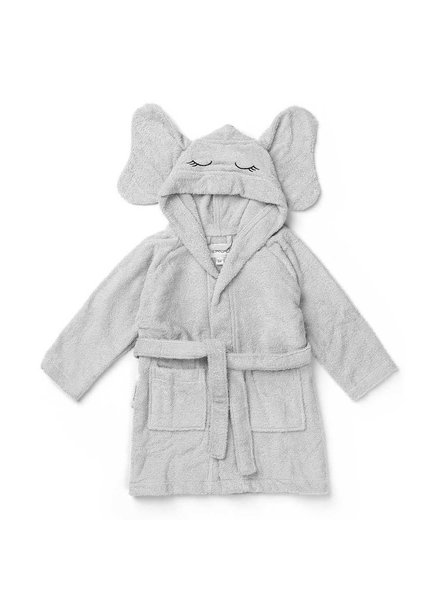 Liewood Lily Bath Robe - Elephant Dumbo Grey