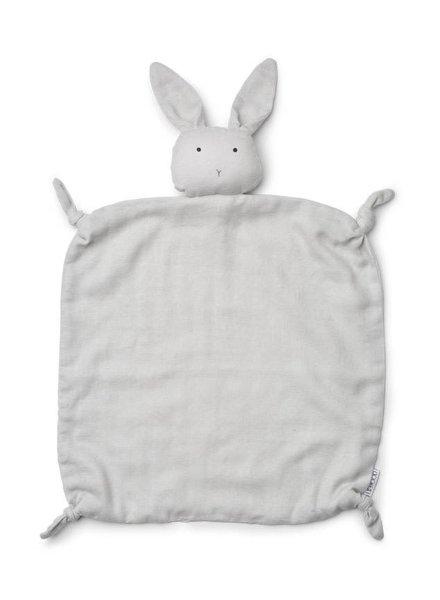 Liewood Agnete cuddle cloth-Rabbit dumbo grey
